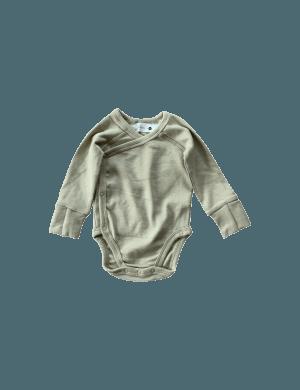 Susukoshi - Organic Kimono Bodysuit LS Artichoke