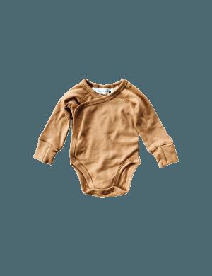 Susukoshi - Organic Kimono Bodysuit LS Sunkissed