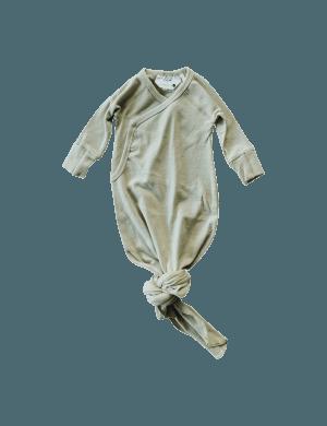 Susukoshi - Organic Kimono Gown Artichoke
