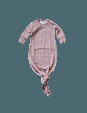 Susukoshi - Organic Kimono Gown Mauve