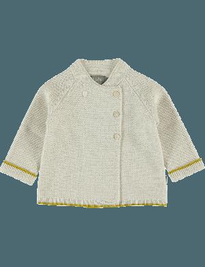 Kidscase Leo NB cardigan off-white