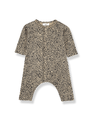 1+ in the family Leiden Jumpsuit black/beige
