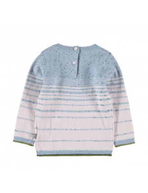 Kidscase Leo NB sweater light blue