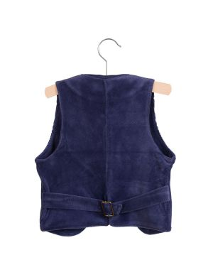 Little Hedonist Gilet Matty Night Blue