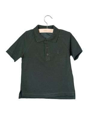 Little Hedonist Short Sleeve Polo Max Pirate Black