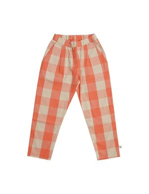CarlijnQ Checkers Pleated Chino
