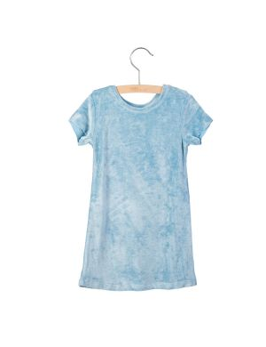 Little Hedonist Dress Miep Blue Fog