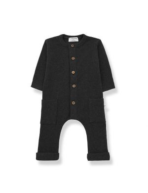 1+ in the family Milos Jumpsuit Charcoal