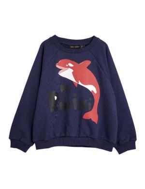 Mini Rodini Orca sp Sweatshirt Navy