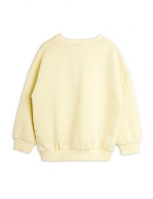 Mini Rodini Turtle sp Sweatshirt Yellow