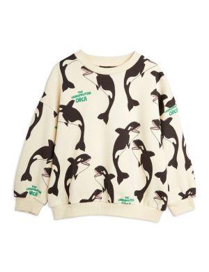 Mini Rodini Orca aop Sweatshirt