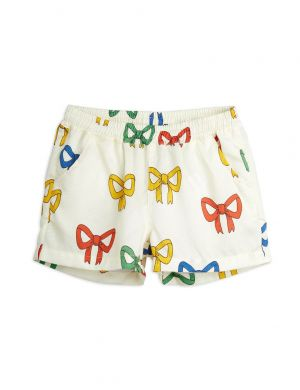 Mini Rodini Bow Woven aop Shorts