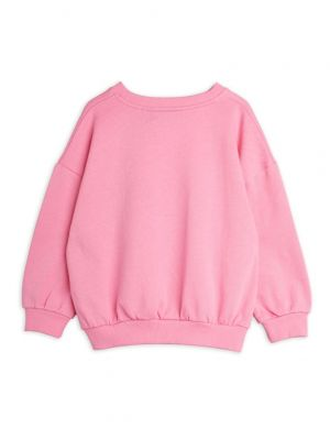Mini Rodini Edelweiss sp Sweatshirt Pink