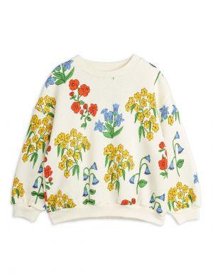 Mini Rodini Snow Flowers aop Sweatshirt