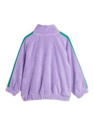 Mini Rodini Terry Jacket Purple