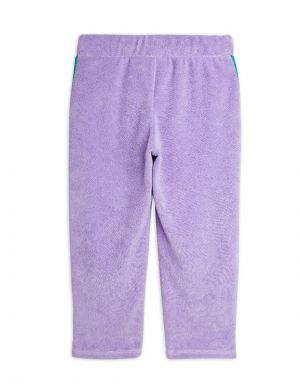 Mini Rodini Terry Trousers Purple