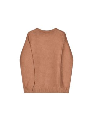 I Dig Denim Mist Knitted Sweater Organic