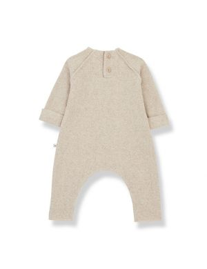 1+ in the Family Moise Jumpsuit Cream