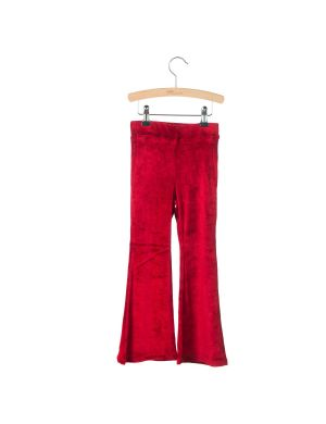 Little Hedonist Flared Legging Monroe Tango Red