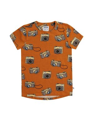 CarlijnQ Short Sleeve Dropback T-Shirt Photo Camera