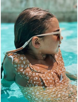 Grech and Co Sunnies Strapsies - Shell Golden Rust