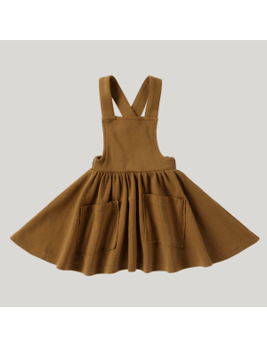 Susukoshi - Pinafore Dress Antique Brass