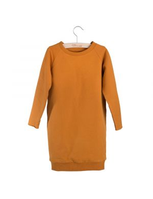 Little Hedonist Ruth Sweatdress Pumpkin Spice
