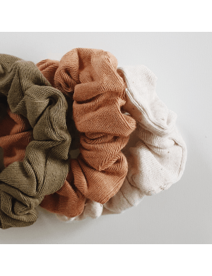 Susukoshi - Scrunchies 3-pack (Leaf, Sunkissed, Cotton spld)