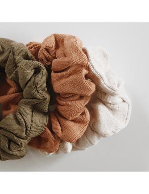 Susukoshi - Scrunchies 3-pack (Leaf, Sunkissed, Cotton spld)