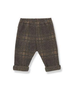 1+ in the family Sebas Fleece Pants Check Terrau