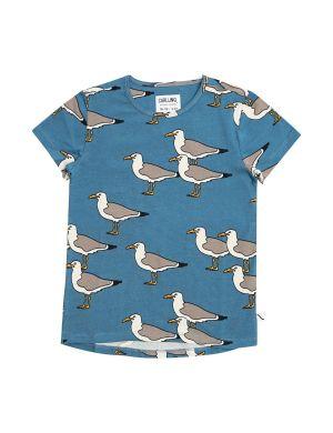 CarlijnQ Short Sleeve Dropback T-shirt Seagull