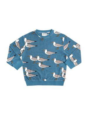 CarlijnQ Sweater Seagull Blue