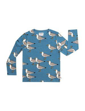 CarlijnQ Longsleeve Seagull Blue