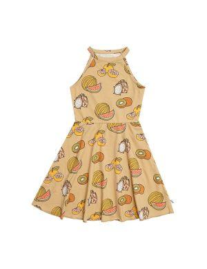 CarlijnQ Halter Dress Summer Fruit