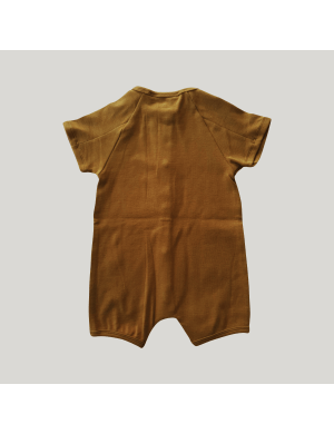 Susukoshi - Organic Snap Romper Antique Brass