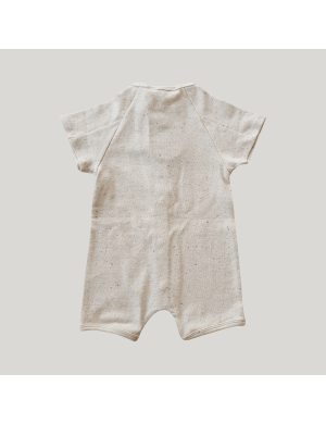 Susukoshi - Organic Snap Romper Cotton Speckled