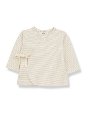 1+ in the family Sol Newborn Shirt Beige