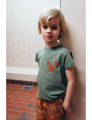 Ammehoela Zoe T-shirt Oil-Green Crab