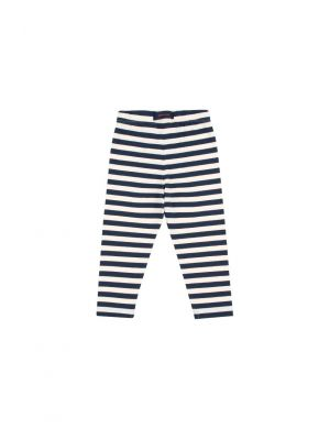 Tiny Cottons STRIPES PANT cream/navy