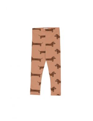 Tiny Cottons Il Bassotto pants tan/dark brown