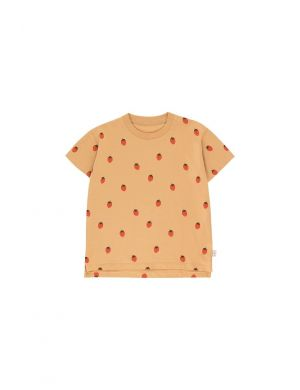Tiny Cottons Strawberry Tee toffee/red