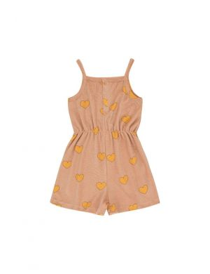 Tiny Cottons Onepiece Hearts light nude/yellow