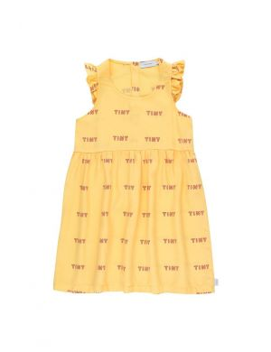 Tiny Cottons Frills Dress Yellow