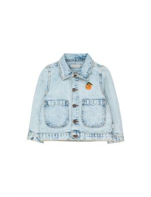 Tiny Cottons Denim Jacket Snowy Blue