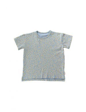 Tiny Cottons Small Flowers Tee Summer Grey/Honey