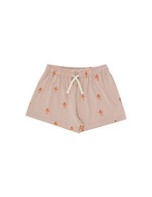Tiny Cottons Ice Cream Cup Short Dusty Pink/Papaya