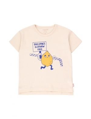 Tiny Cottons Tiny Activist Tee Light Cream/Yellow