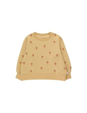 Tiny Cottons Ice Cream Cup aop Sweatshirt Sand/Papaya