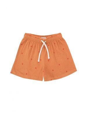 Tiny Cottons Starfish Short Papaya/Red
