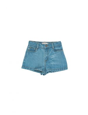 Tiny Cottons Denim Short Light Denim